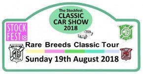 2018 Rare Breeds Tour and Stockfest Classic Car Show