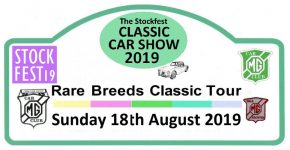 2019 Rare Breeds Tour and Stockfest Classic Car Show